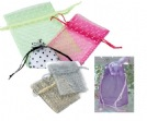 Mesh and Netted Pouches